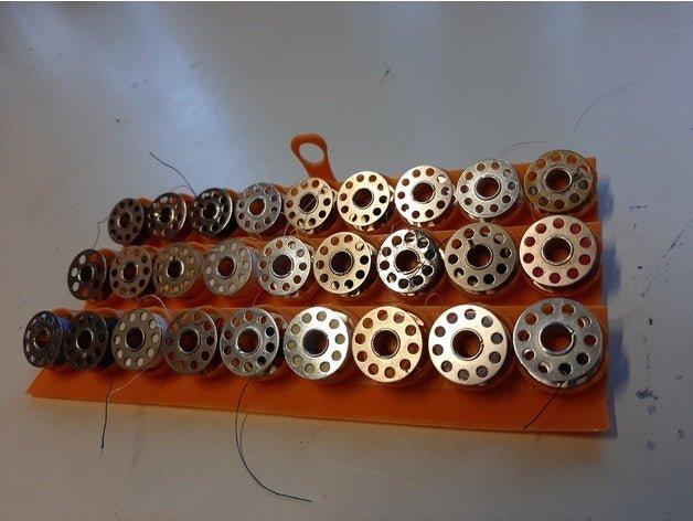 trieur de bobines de fil à coudre