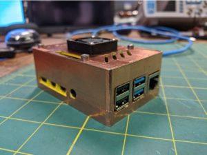 Boitier blindé Radioberry imprimé en 3D pour RPI4