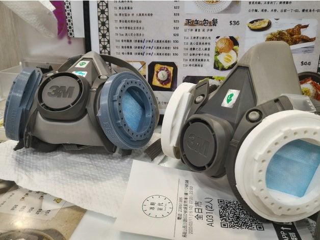 Kit de filtrage de masques médicaux 1/9 pour 3M