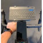 Support de clavier – s'adapte au support de processeur de vélo Wahoo – Idéal pour Zwifting