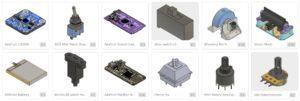 Pièces CAO 3D d'Adafruit sur GitHub