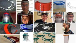 Encore un autre écran facial imprimé en 3D – Collection de dessins