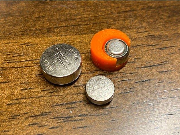 Adaptateur de batterie LR41 à LR44