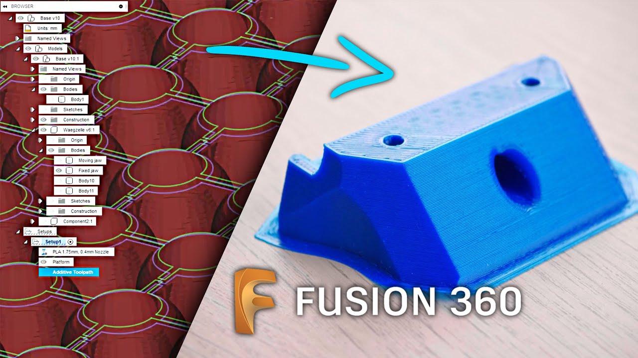 Vous pouvez désormais imprimer vos pièces en 3D avec la nouvelle trancheuse Fusion360! Vaut-il la peine d'être utilisé?