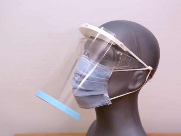 Visière Face Shield 3-Hole Punch Design