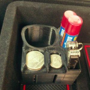 Adaptateur plateau / charge Tesla Model 3 pour console centrale