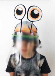 Metaform Architects crée des écrans faciaux personnalisables pour les enfants