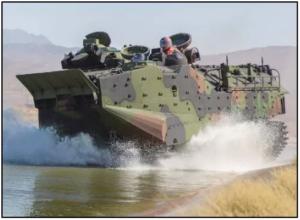 Pièces de rechange pour véhicule amphibie d'assaut imprimées en 3D avec HP Metal Jet