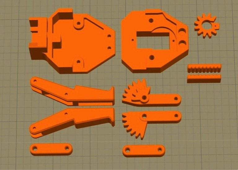 Pince parallèle pour EEZYbotARM MK2