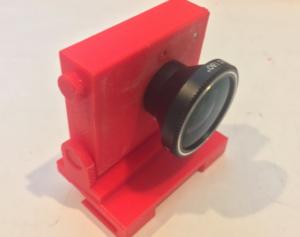 Étui pour appareil photo Raspberry Pi (v2.1) avec support pivotant et clips de 3 mm