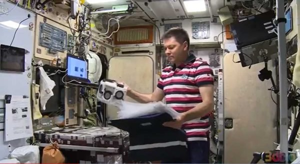 Le cosmonaute à bord de l'ISS imprime pour la première fois des tissus humains en 3D