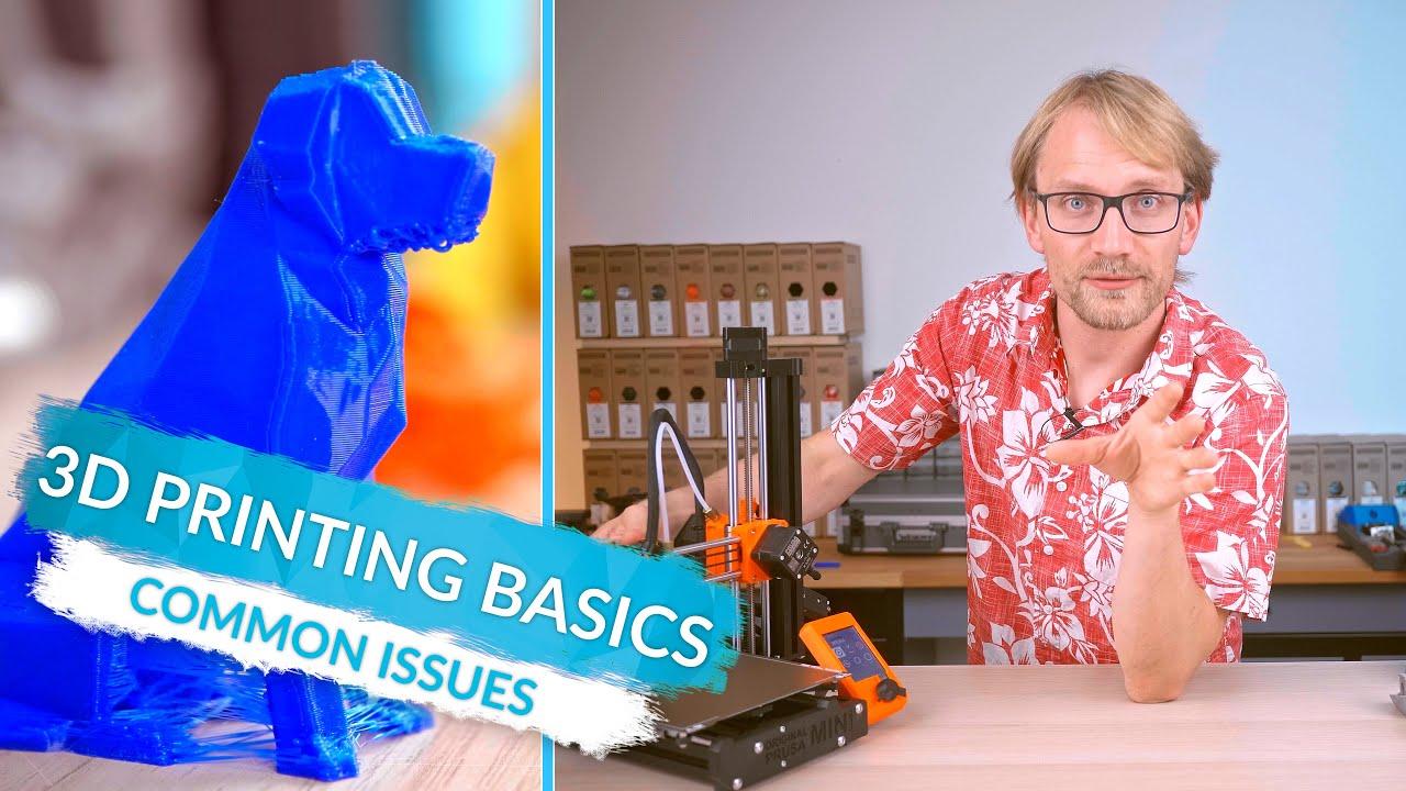 Bases de l'impression 3D 9 – Problèmes courants et solutions
