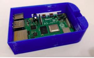 Boîtier Raspberry Pi 4 Snap Fit pour Rail DIN