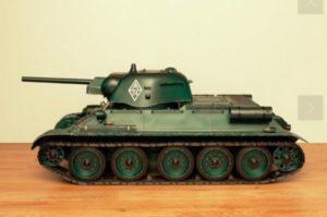 Char T-34/76 RC 1:10