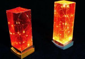 Nouveau guide: Lampe torche en résine époxy inspirée de Minecraft avec contrôle tactile