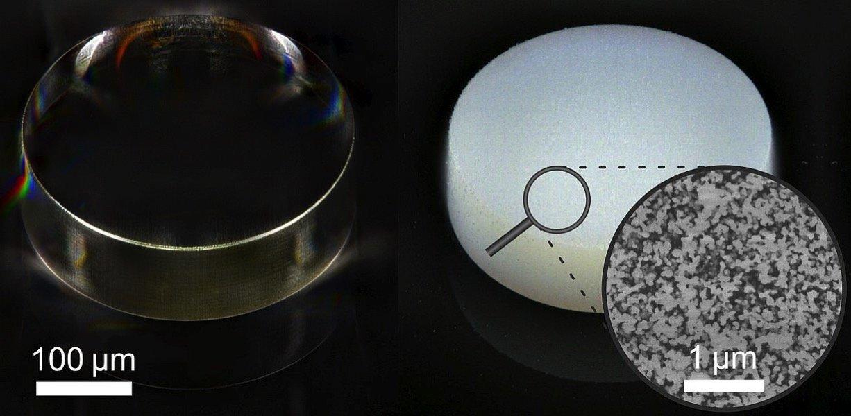 Une nouvelle résine photosensible permet l'impression 3D des plus petites structures poreuses