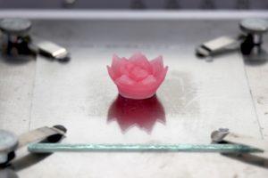 Impression 3D d'aérogels de silice pour les applications à petite échelle