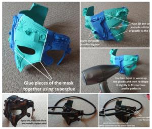 S'assimiler aux Borgs avec un peu d'aide #3DPrinted #WearableWednesday