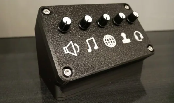 Deej Knob Box (contrôleur de volume) #3DThursday #3DPrinting