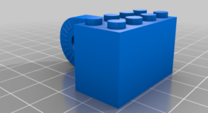 Adaptateur LEGO pour caméra articulée Raspberry Pi montée sur SmartiPi Touch 1 #3Djeudi #3DPrinting