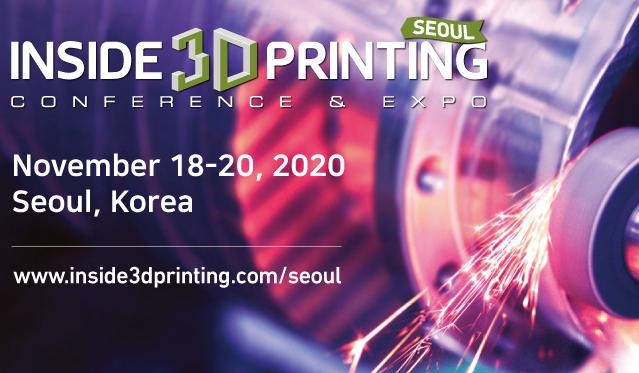 Inside 3D Printing Seoul 2020 arrive cette semaine dans un format hybride
