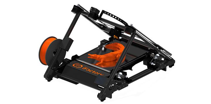 L'imprimante iFactory One 3D est dotée d'une protection contre les erreurs dues à l'intelligence artificielle