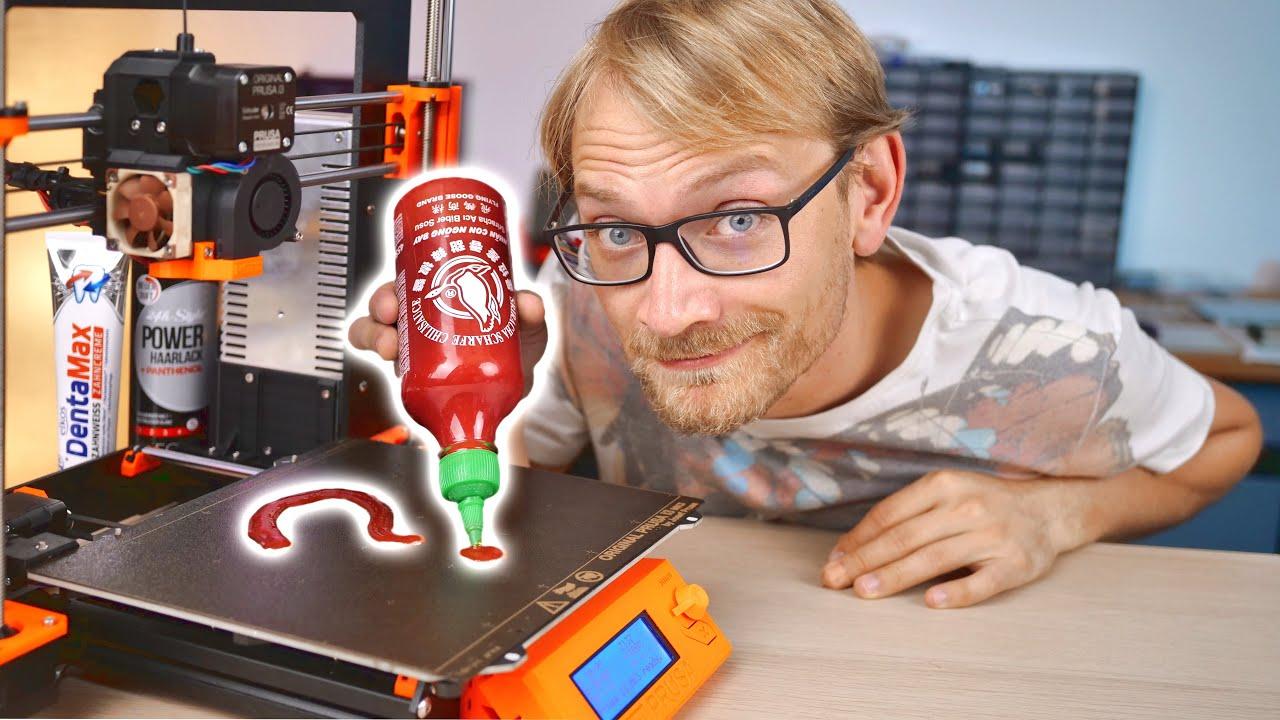 Des adhésifs pour lit d'imprimante 3D parfaits – de l'épicerie !