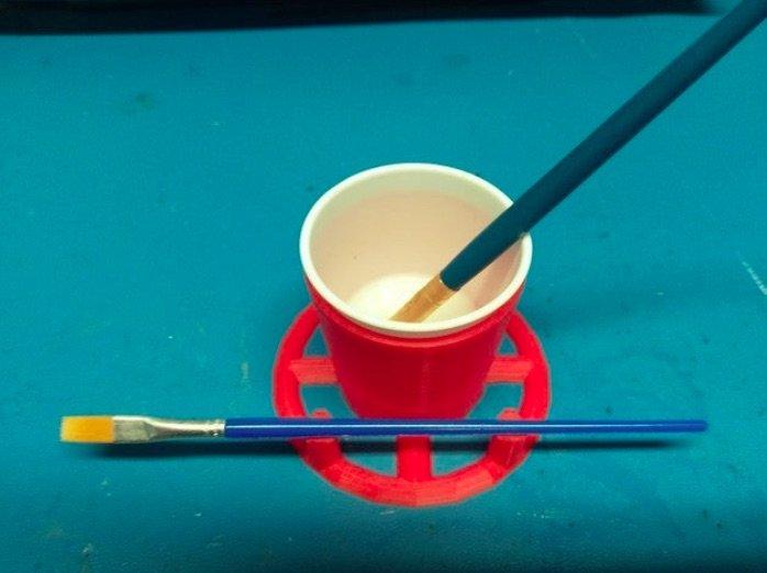 Outil de peinture du porte-gobelet Dixie #3DPrinting #3DThursday