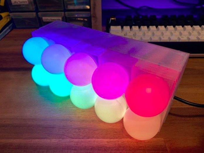 Ping Pong Pixels #3DPrinting #3Djeudi
