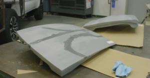 Un toit imprimé en 3D sur le Toyota GR Supra Sport