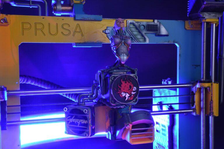 L'imprimeur Cyberpunk Prusa 3D célèbre la sortie de Cyberpunk 2077