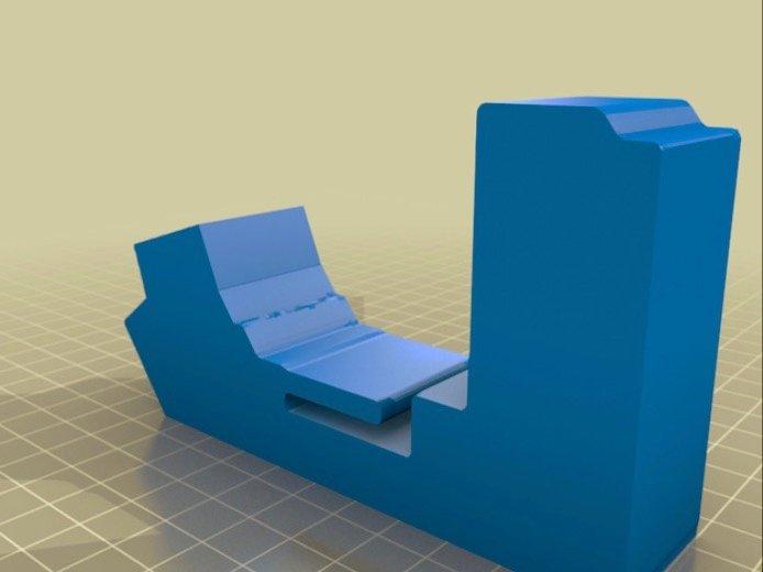 Verrouillage du couvercle de la boîte de recyclage en nylon pour la boîte de recyclage en cascade #3DPrinting #3Dthursday