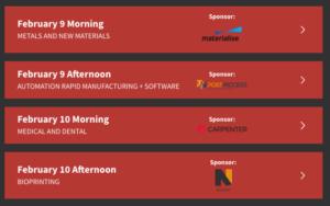 Augmentation des tarifs d'inscription au Sommet de l'impression 3D AMS 2021 15 janvier