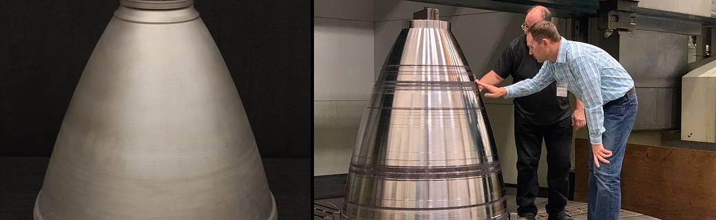 La NASA teste avec succès des pièces de moteur de fusée imprimées en 3D