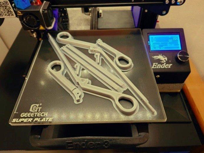 Pince Hartmann (Micro pince) #3DPrinting #3Djeudi