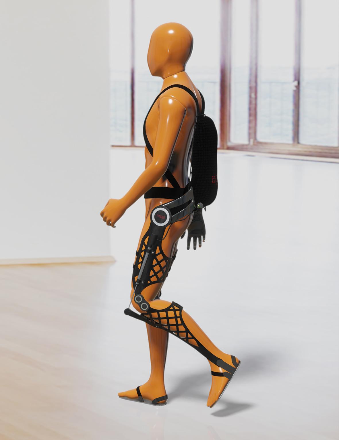 Un projet commun vise à développer des exosquelettes hydrauliques avec des composants imprimés en 3D