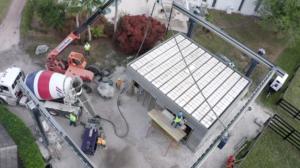 Premier bâtiment imprimé en 3D érigé en Floride via l'imprimante BOD2
