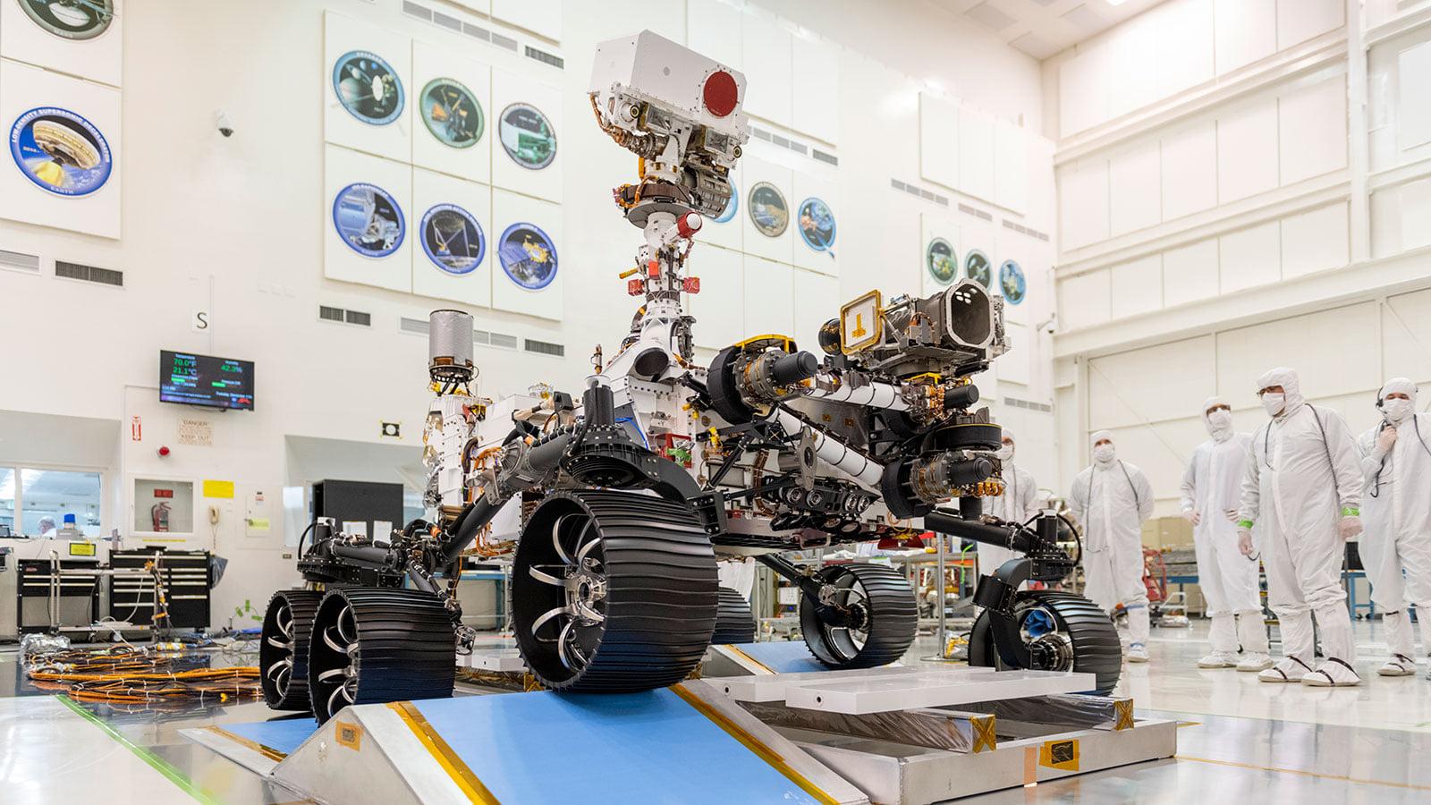 Read more about the article Comment le rover Persévérance, équipé de pièces imprimées en 3D, se développe sur Mars