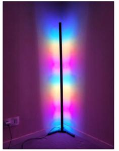 Lampe wifi à bande d'angle #3DThursday #3DPrinting