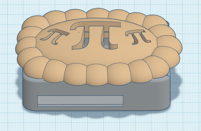 Boîtier Pi Pie Raspberry Pi imprimable en 3D avec Tinkercad ! @Raspberry_Pi #PiDay #RasberryPi