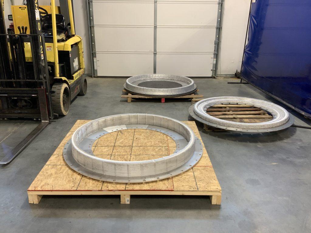 MELD reçoit 1,5 million de dollars pour des réparations par impression 3D de métaux pour la marine américaine.