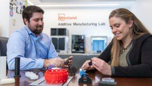 M. Holland conclut des partenariats pour élargir sa sélection de matériaux d'impression 3D