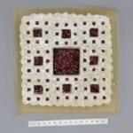 Matthew Petroff : biscuits Linzer au tapis Sierpiński cuits au four