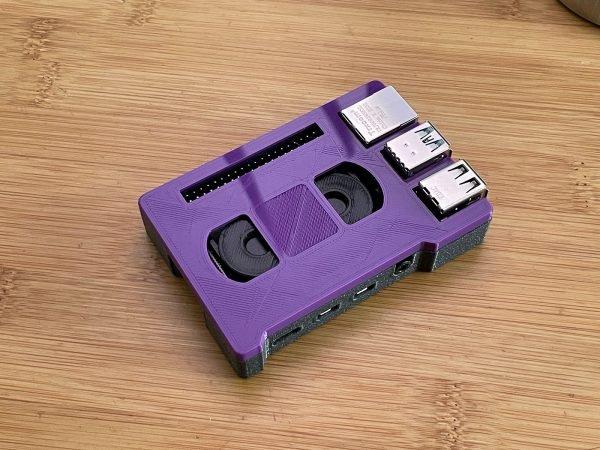 Etui pour Raspberry Pi 4 via @ecken #3DPrinting #RaspberryPi