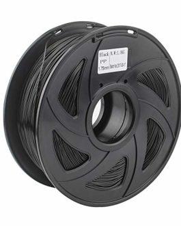 1pc Photopolymère Qualité Premium PP Filament for la 3D imprimante Souple et Flexible en Plastique Filament Noir 1.75mm…