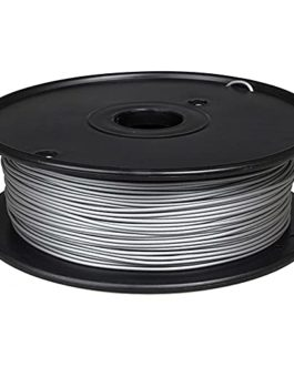 3D Imprimante Filament 1.75mm PLA Matière métallique 0.5kg Bobine 60% PLA + 40% de poudre de métal-Aluminium