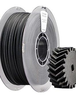 3D Imprimante Filament 1.75mm Paht K7CFLM Fibre de carbone Nylon renforcé de nylon 12 Matériau 1kg Bobine