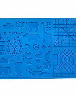 3D Pen Mat, multi-forme silicone stylo 3D dessin modèle, impression 3D tapis avec 2 doigts protecteurs cadeau pour 3D…