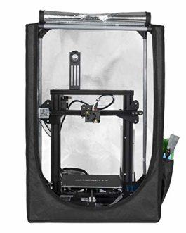 Creality Enclosure Fireproof and Dustproof 3D Printer Mini Tent for Ender 3 / Ender 3 pro/Ender 5/Ender 5 Pro, Constant…