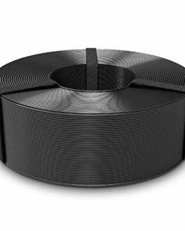 3D Printer Filament, PETG 1.75mm Refill, SUNLU PETG 3D Filament, Dimensional Accuracy +/- 0.02 mm,Noir, 1KG
